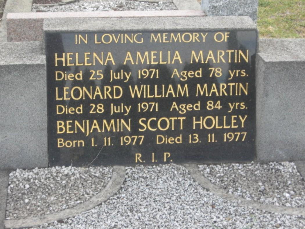 frankston cemetery martin helena amelia photo